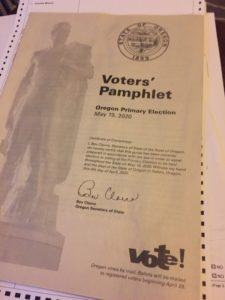 Voter's pamphlet