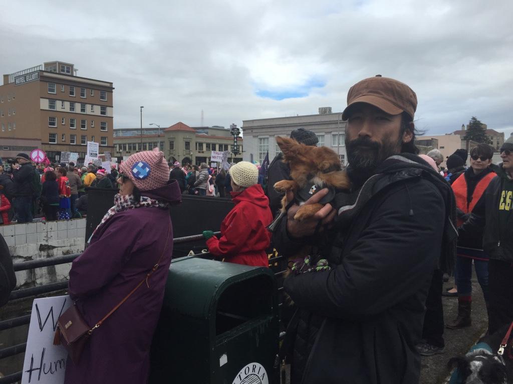 Astoria women's march