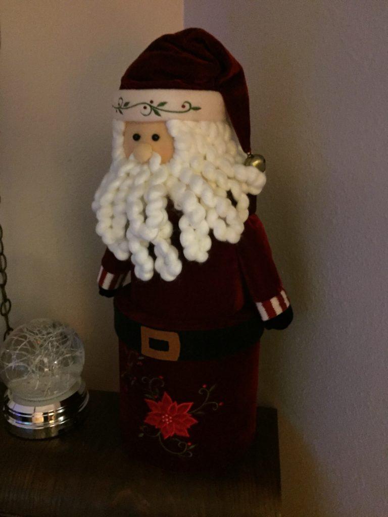 Santa Claus can