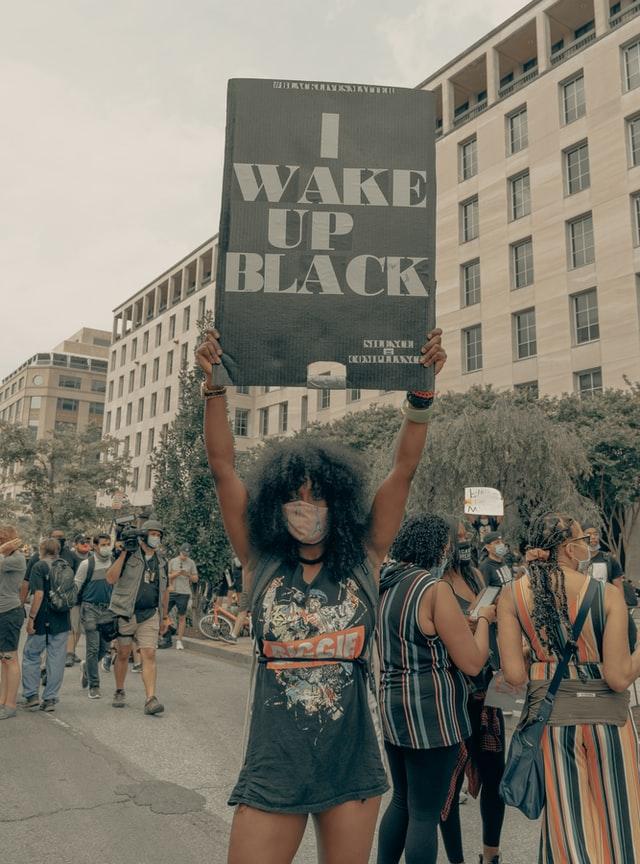 I wake up black